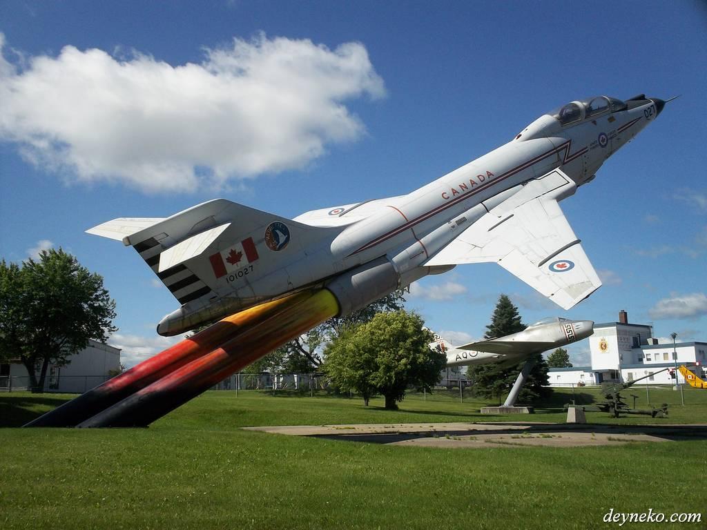 CF-101B Voodoo в музее авиационной обороны Баготвиль