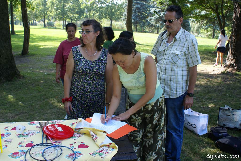 French courses in parks of Montral and its suburbs