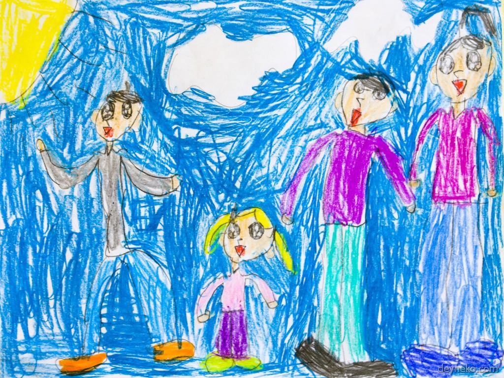 Детские рисунки Алисы