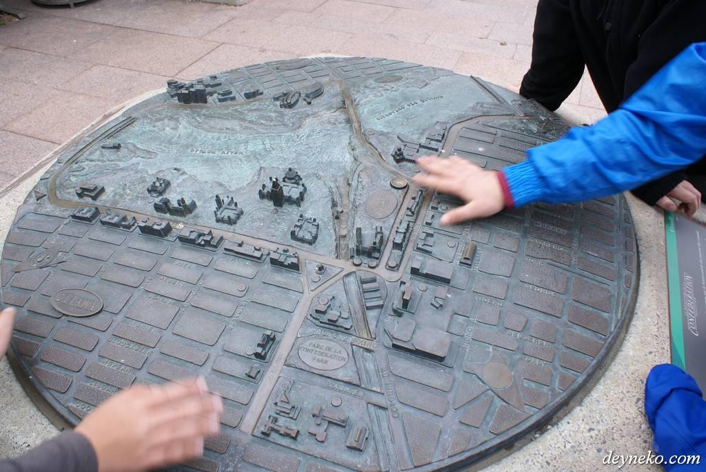 железная карта Оттавы