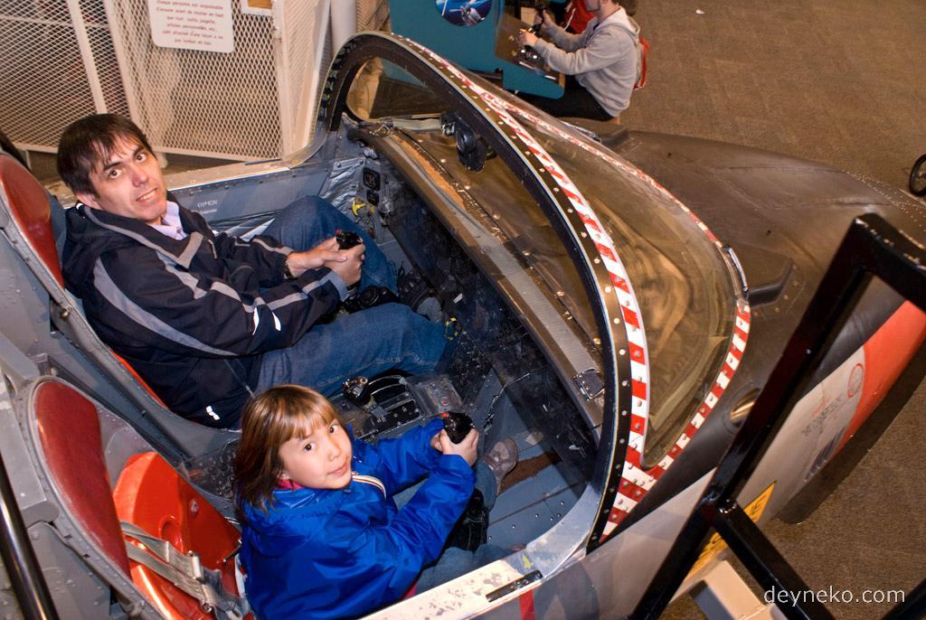 CT-114 Tutor в Музее авиации Канады