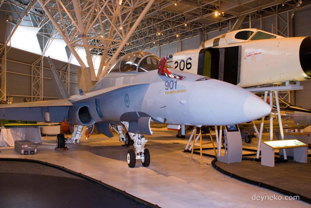 """Это основной истребитель Военно-воздушных сил Канады - CF-18 """"Хорнет""""."""