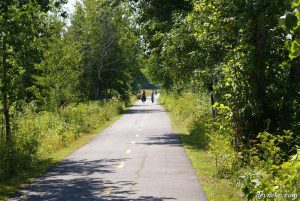 My kids and me – our first bike tour Montreal – Campground West KOA