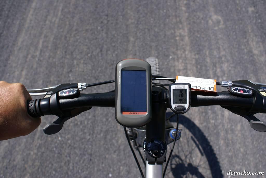 Незаменимый GPS Garmin Oregon 450 в велопоходе с детьми