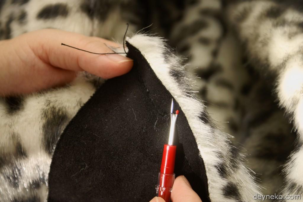 сверхпрочные нитки для куртки из искусственного меха
