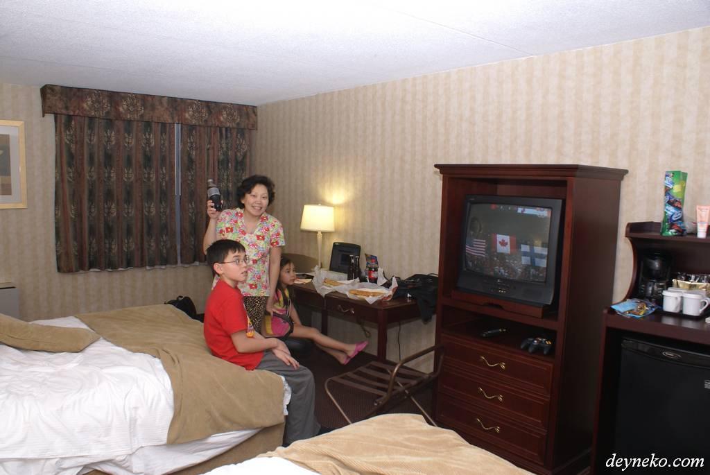 Первый день в Канаде Отель в Торонто