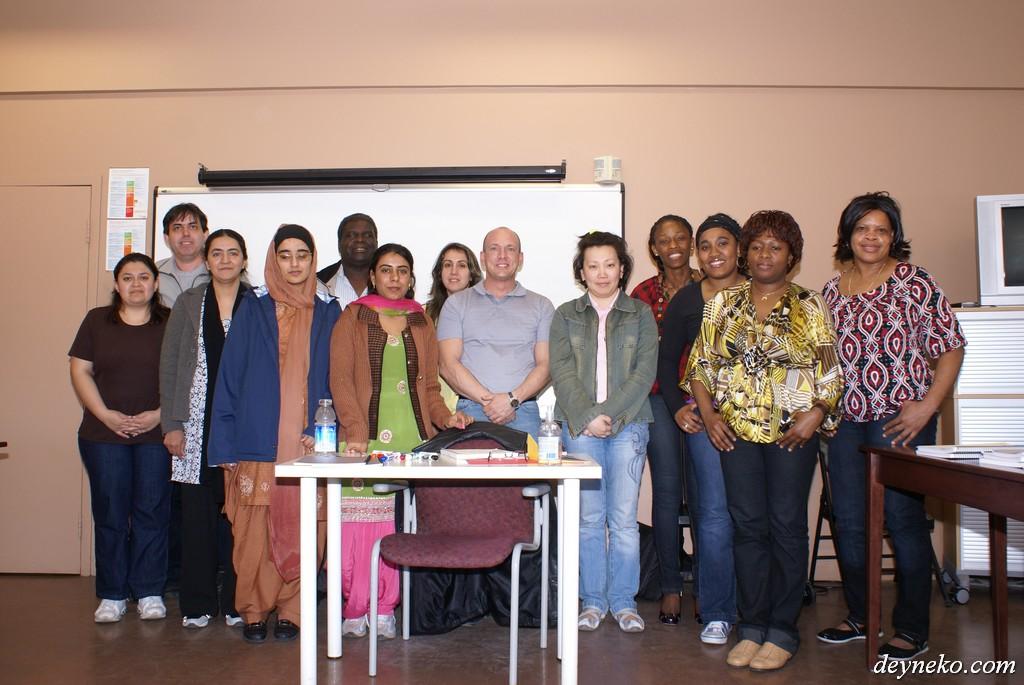 French course in Prizma center - LaSalle