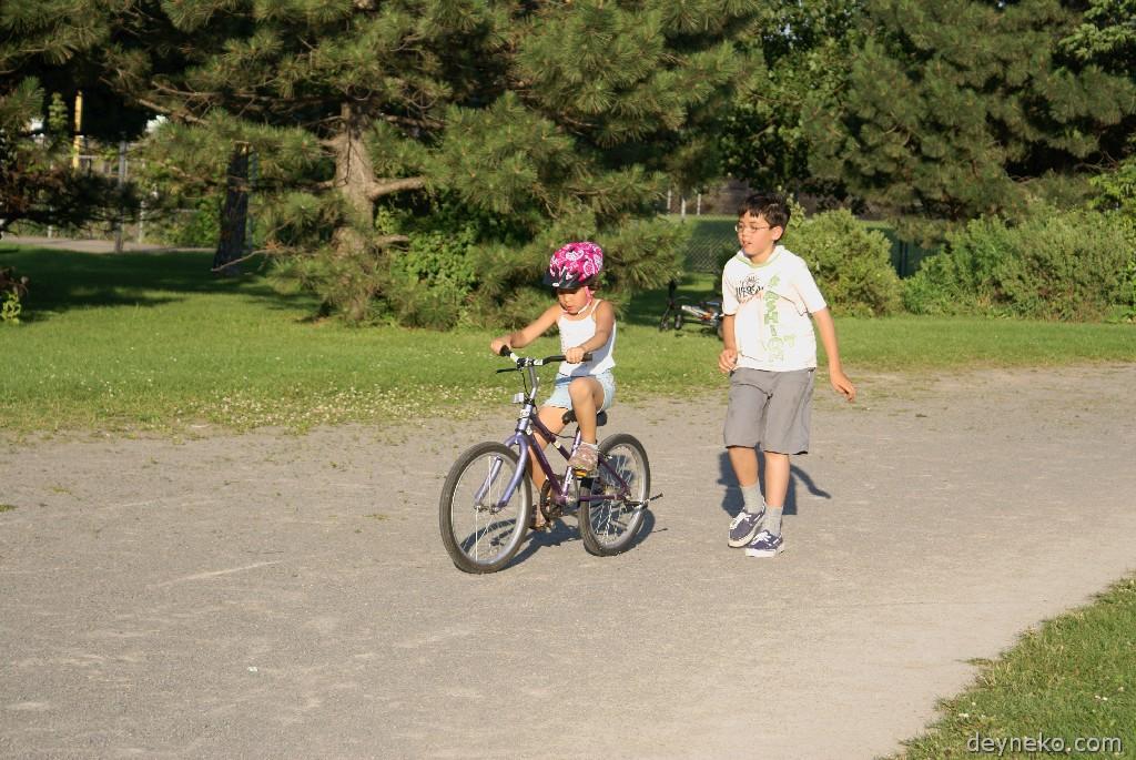 научиться ездить на велосипеде ребенку