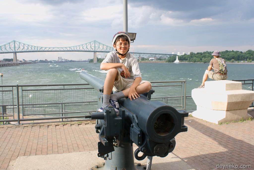 Пушка в Монреале