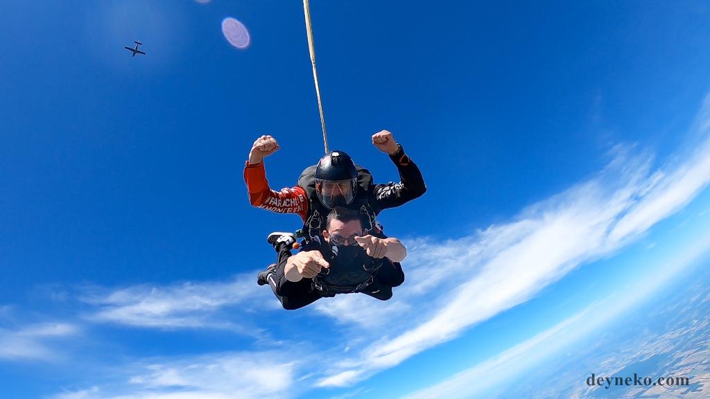 Монреаль прыжок с парашютом